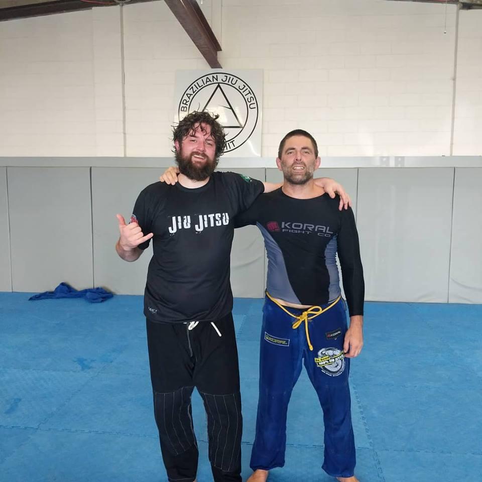 Summit Jiu Jitsu training